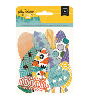 Second City Vellum & Cardstock Die-Cuts-Feathers