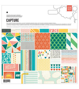 "Capture Collection Pack 12""X12""-"