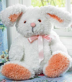 "MCG Textiles Huggables Bunny Stuffed Animal Latch Hook Kit-19"" Tall"