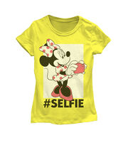 Disney Minnie Mouse Selfie Kids T-shirt, , hi-res