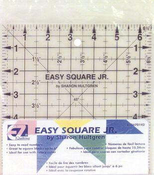 "Wrights®/EZ Square Jr. Ruler-6-1/2""X6-1/2"""