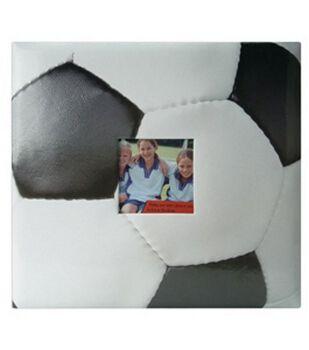 "Soccer 12""x12"" Postbound Album"