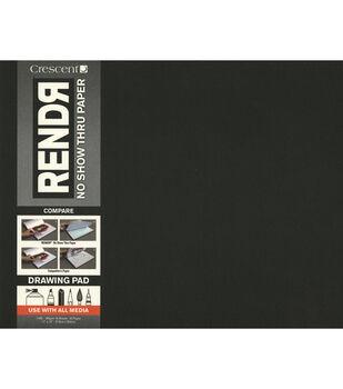Crescent RENDR No Show Thru Drawing Pad 11''x14''