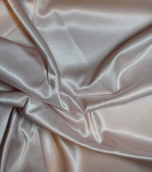 Casa Collection Fabric-Stretch Satin Rosewater