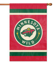 Minnesota Wild NHL Applique Banner Flag, , hi-res