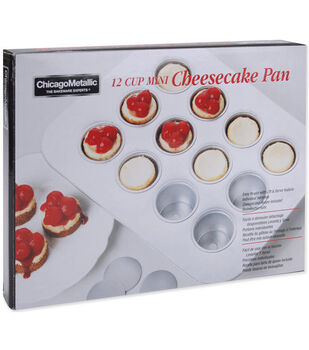 Chicago Metallic 12 Cup Mini Cheesecake Pan