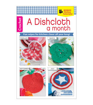 A Dishcloth A Month Crochet Book
