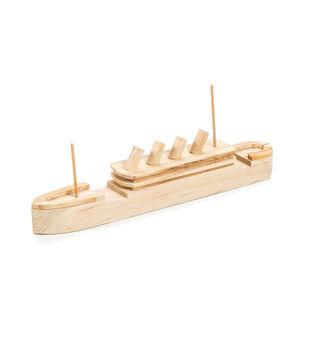 Darice Wood Model Kit-Titanic