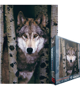 Euro Graphics Jigsaw Puzzle Gray Wolf
