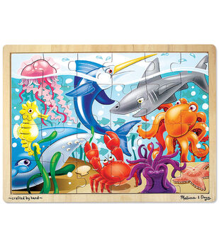Melissa & Doug Under the Sea Jigsaw (24 pc)