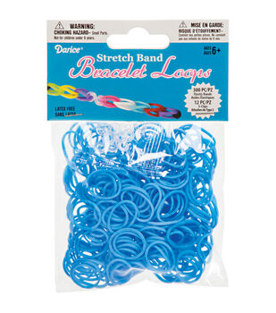 Darice Stretch Band Bracelet Loops 300ct