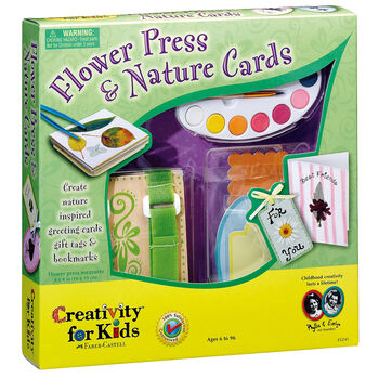 Flower Press And Nature Cards