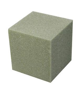8X8X8In Foam Cube Green