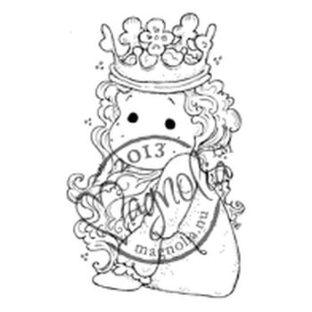 Magnolia 2013 Once Upon A Time Cling Stamp Little Cute Tilda