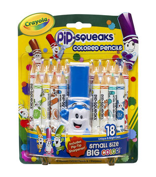Pip-Squeaks Colored Pencils-18/Pkg