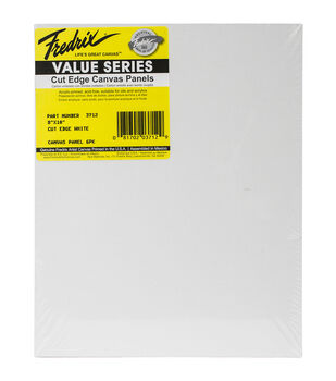 Fredrix Cut Edge Canvas Panel 8''x10''