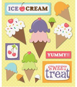 Sticker Medley-Ice Cream Party-Snow Cones
