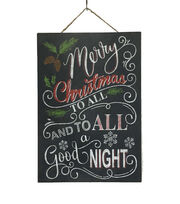 Maker's Holiday To All A Good Night Wall Decor, , hi-res