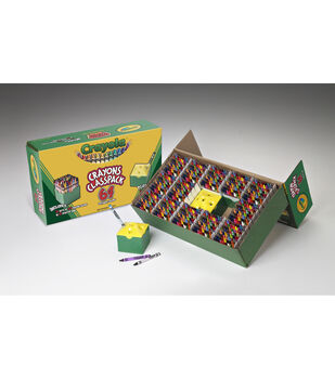 Crayola 832 count Regular Size Crayon Classpack, 64 colors