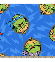 Teenage Mutant Ninja Turtles Turtle Head Toss Fleece Fabric, , hi-res