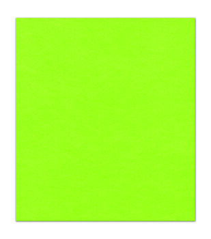 9x12 Presto Neon Green Sticky Back Felt