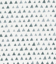 Keepsake Calico™ Cotton Fabric-Gray Shaded Triangle, , hi-res