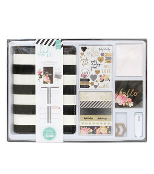 Heidi Swapp Memory Planner Kit Black and White