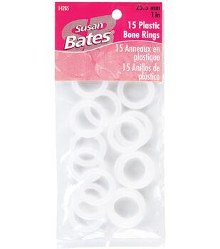 Susan Bates Cabone Rings White