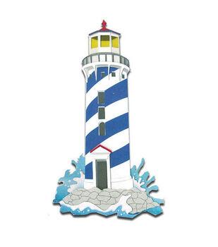 Jolee's Boutique Le Grande Dimensional Sticker-Lighthouses