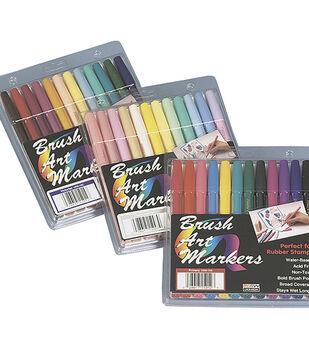 Marvy Uchida Brush Art Marker Set-12PK