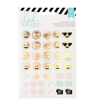 Heidi Swapp Memory Planner Emoticon Stickers