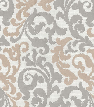 Kelly Ripa Upholstery Fabric-Graceful Curves Linen