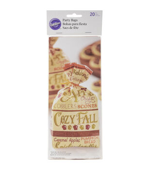 Wilton® Standard Party Bags 20/Pkg-Cozy Fall