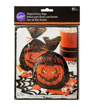"Wilton® Shaped Party Bags 6""X9"" 15/Pkg-Hallows Eve"