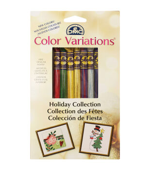 DMC Color Variations Floss Pack- Holiday 8/Pkg