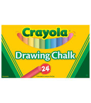 Crayola 24 ct. Colored Art Chalk, , hi-res