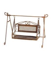 Fairy Garden Copper Mesh Swing, , hi-res