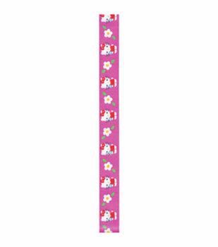 "Offray 0.63""x9' Hello Kitty Hot Pink Craft Ribbon"