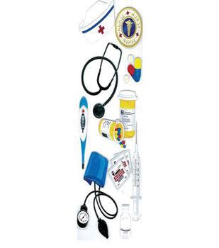 EK Success Dimensional Sticker-Nurse