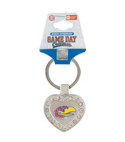 University of Kansas NCAA Heart Keychain, , hi-res