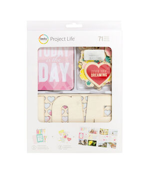 Project Life Value Kit 71/Pkg-Note To Self