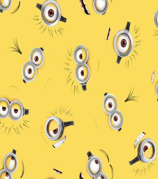 Minions - Eyes On Yellow Cotton