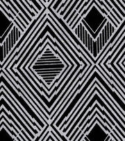 Keepsake Calico™ Cotton Fabric-Sunshine Multi Black Zigzag, , hi-res