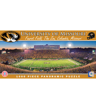 University of Missouri NCAA Master Pieces  Panoramic Puzzle