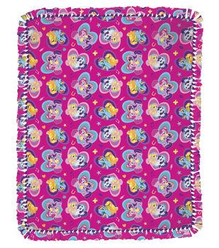 """My Little Pony Friends 48"""" No Sew Throw"""
