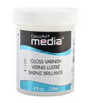 DecoArt Media Varnish 4oz-Gloss, , hi-res