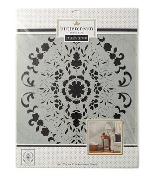Buttercream™ Audrey Collection Extra Large Stencil-Vintage Lace