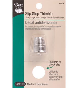 Dritz Slip Stop Thimbles Size Small