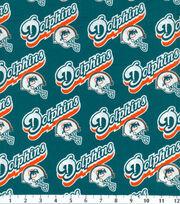 Miami Dolphins NFL  Cotton Fabric, , hi-res