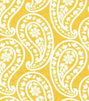 Keepsake Calico™ Cotton Fabric-Eloise Yellow Paisley, , hi-res